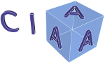 image of CIA-cubed logo